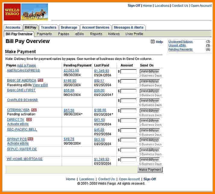 Fake Bank Statement Template 7 Fake Wells Fargo Bank Statement