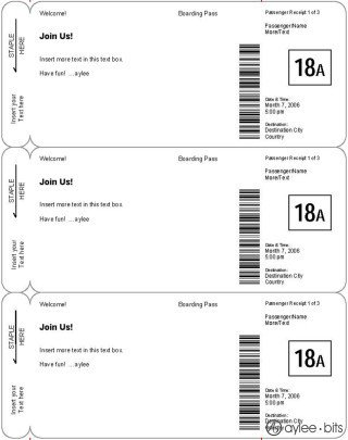 Fake Boarding Pass Template Giving someone A Trip Check Out these Fake Plane Ticket