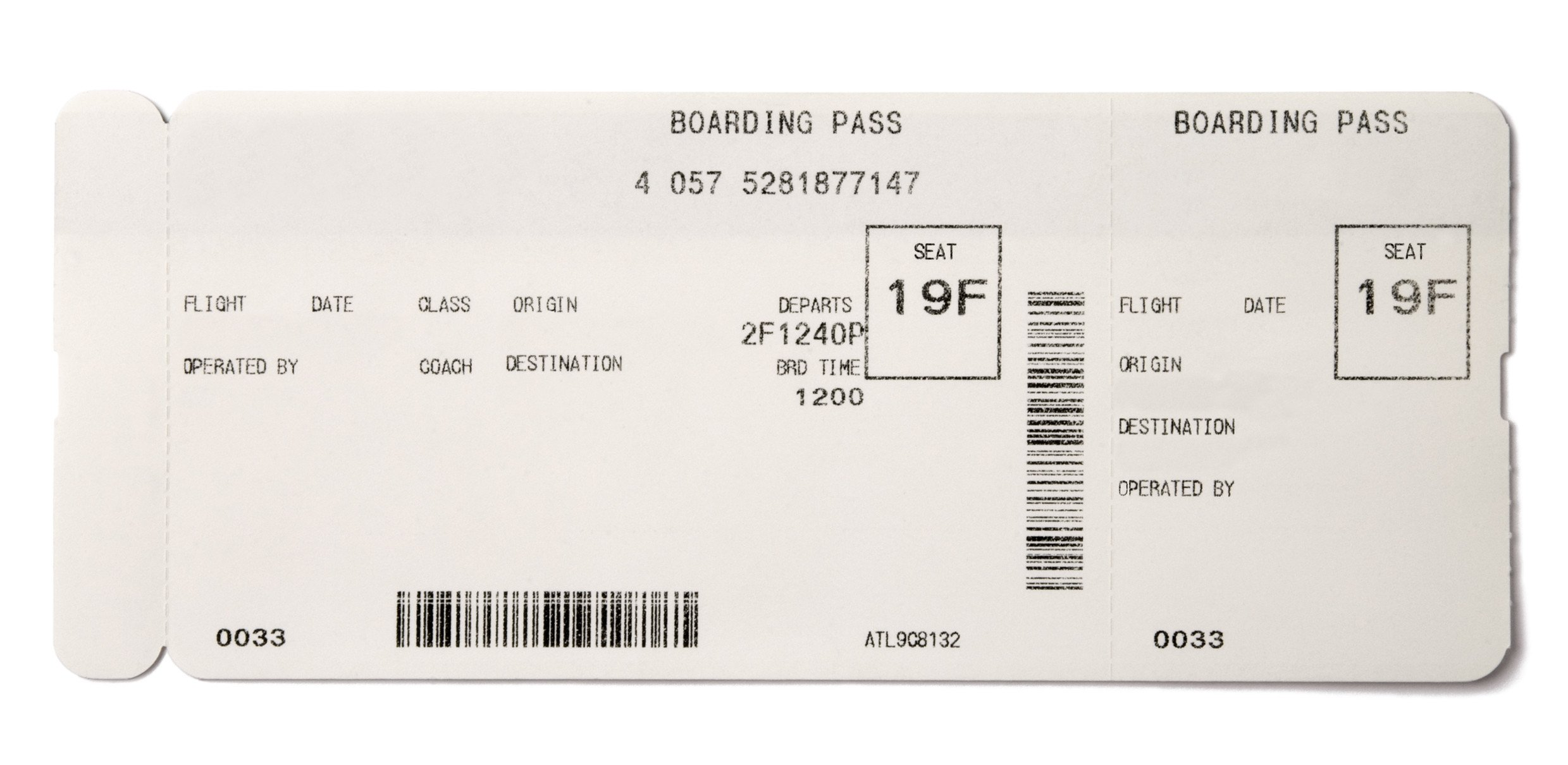 Fake Boarding Pass Template Making Fake Boarding Passes as Gifts Le Chic Geek