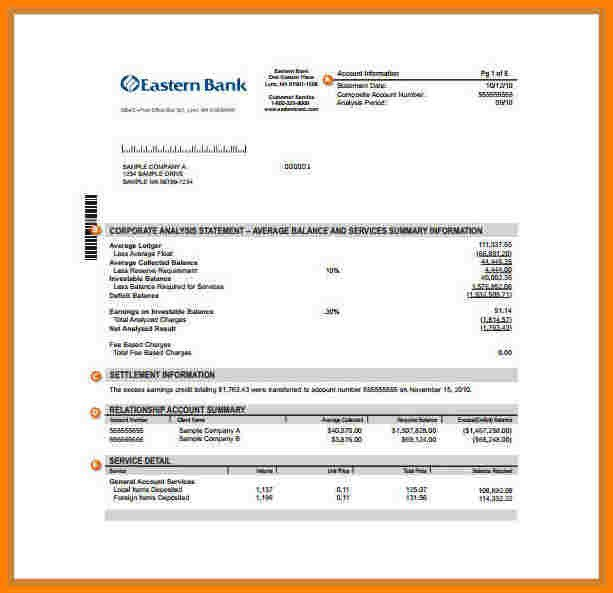 Fake Chase Bank Statement 9 Fake Chase Bank Statement