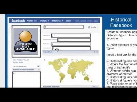 Fake Facebook Page Template Three Ways to Create Fake Profiles for Historical