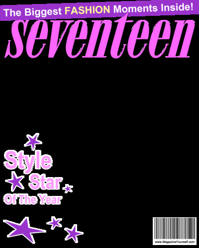 Fake Magazine Cover Template Photoshop Create Seventeen Magazine Covers