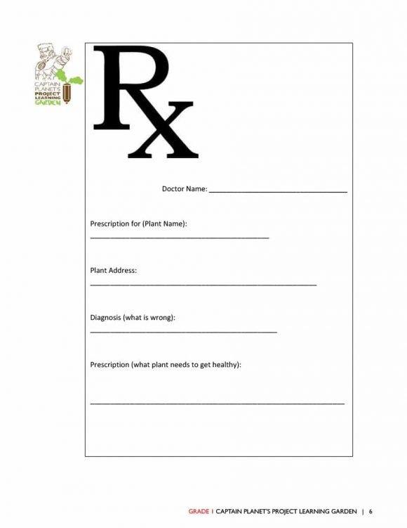 Fake Prescription Label Template 32 Real & Fake Prescription Templates Printable Templates