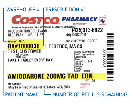 Fake Prescription Label Template Fake Prescription Label Template