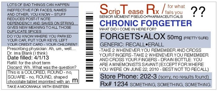 Fake Prescription Label Template Funny Personalized Fake Prescriptions for Modern Life by