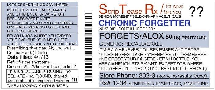 Fake Prescription Label Template Funny Personalized Fake Prescriptions for Modern Life by