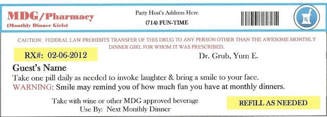 Fake Prescription Label Template Invite and Delight Fake An Injury Party sooo Fun
