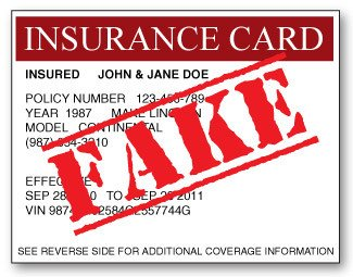 Fake Proof Of Insurance Templates Fake Auto Insurance Card Dorothy Kinsey Unclaimed Money