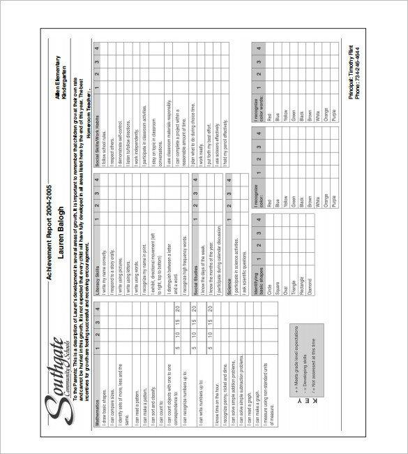 Fake Report Card Template 27 Progress Report Card Templates Google Doc Pdf Psd