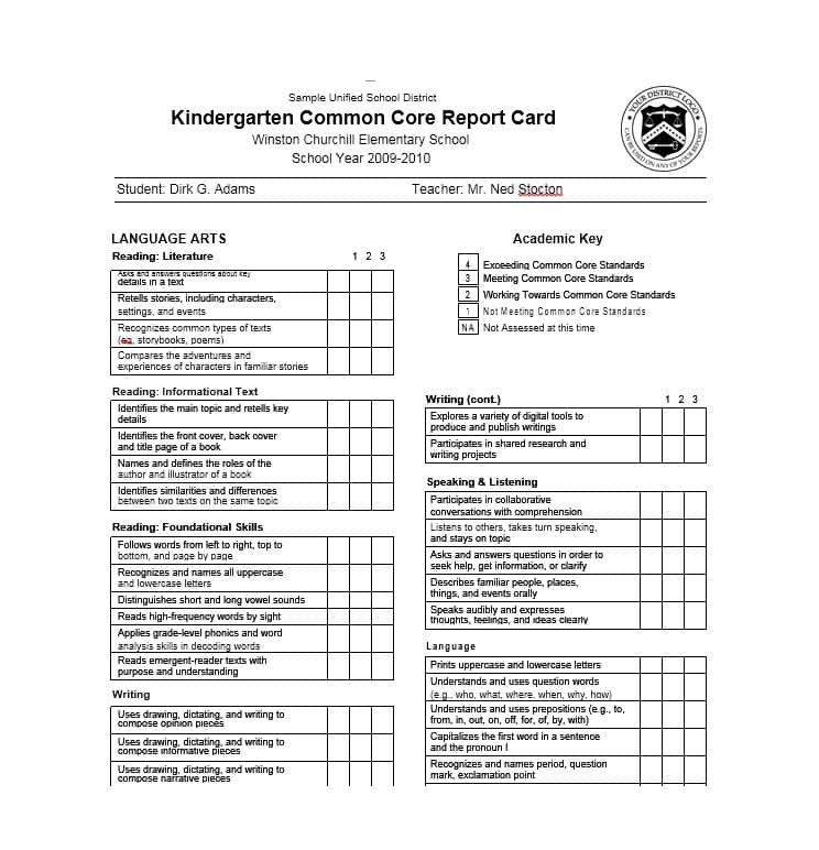Fake Report Card Template 30 Real & Fake Report Card Templates [homeschool High
