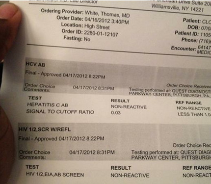 Fake Std Papers Wr Tweets Hiv Results Negative American Idol
