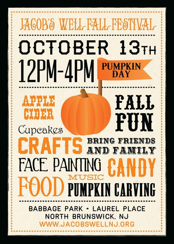 Fall Festival Flyer Template 10 Best Fall Festival Flyers Images On Pinterest