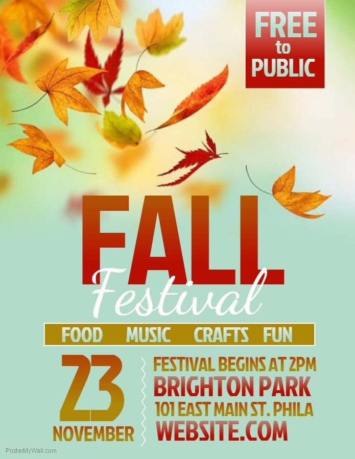 Fall Festival Flyer Template Best 25 Flyer Template Ideas On Pinterest