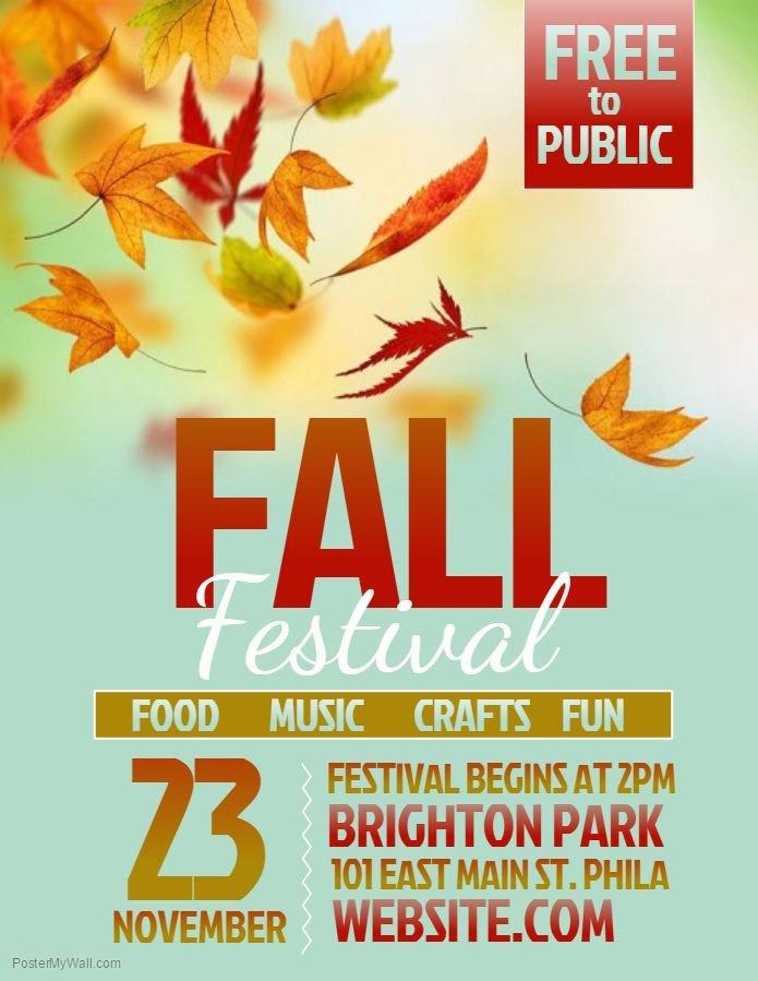 Fall Festival Flyer Templates Best 25 Flyer Template Ideas On Pinterest