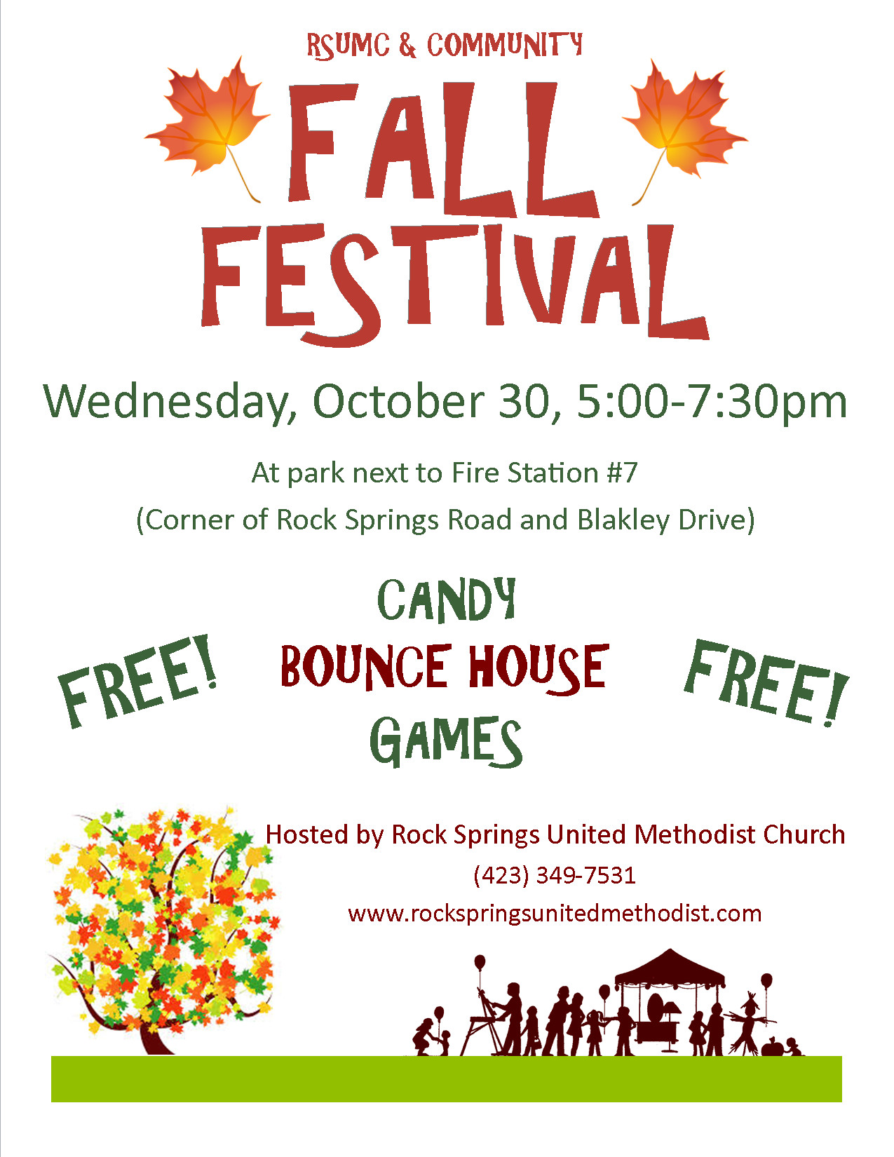 Fall Festival Flyer Templates Fall Festival Flyer Template Google Search