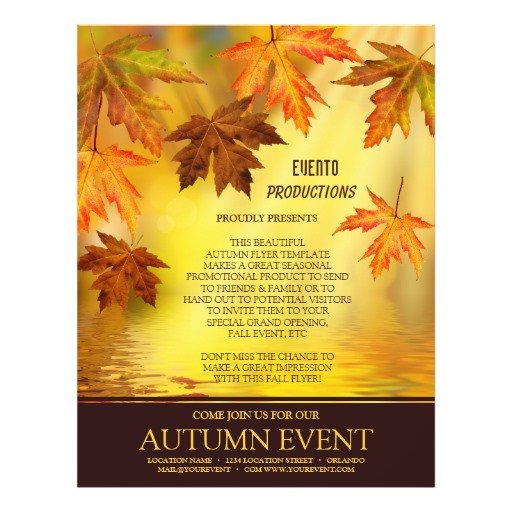 Fall Festival Flyers Template Fall Festival Flyer Thanksgiving Party Flyer