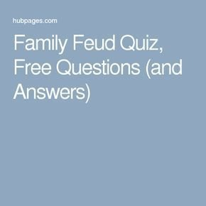 Family Feud Bible Questions Best 25 Family Quiz Questions Ideas On Pinterest