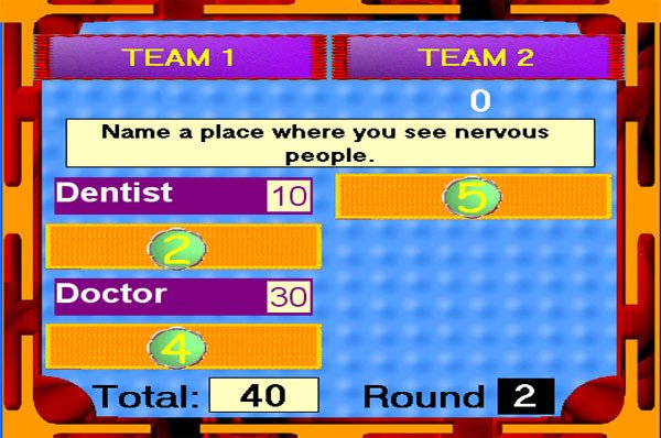Family Feud Bible Questions Bible Feud Game