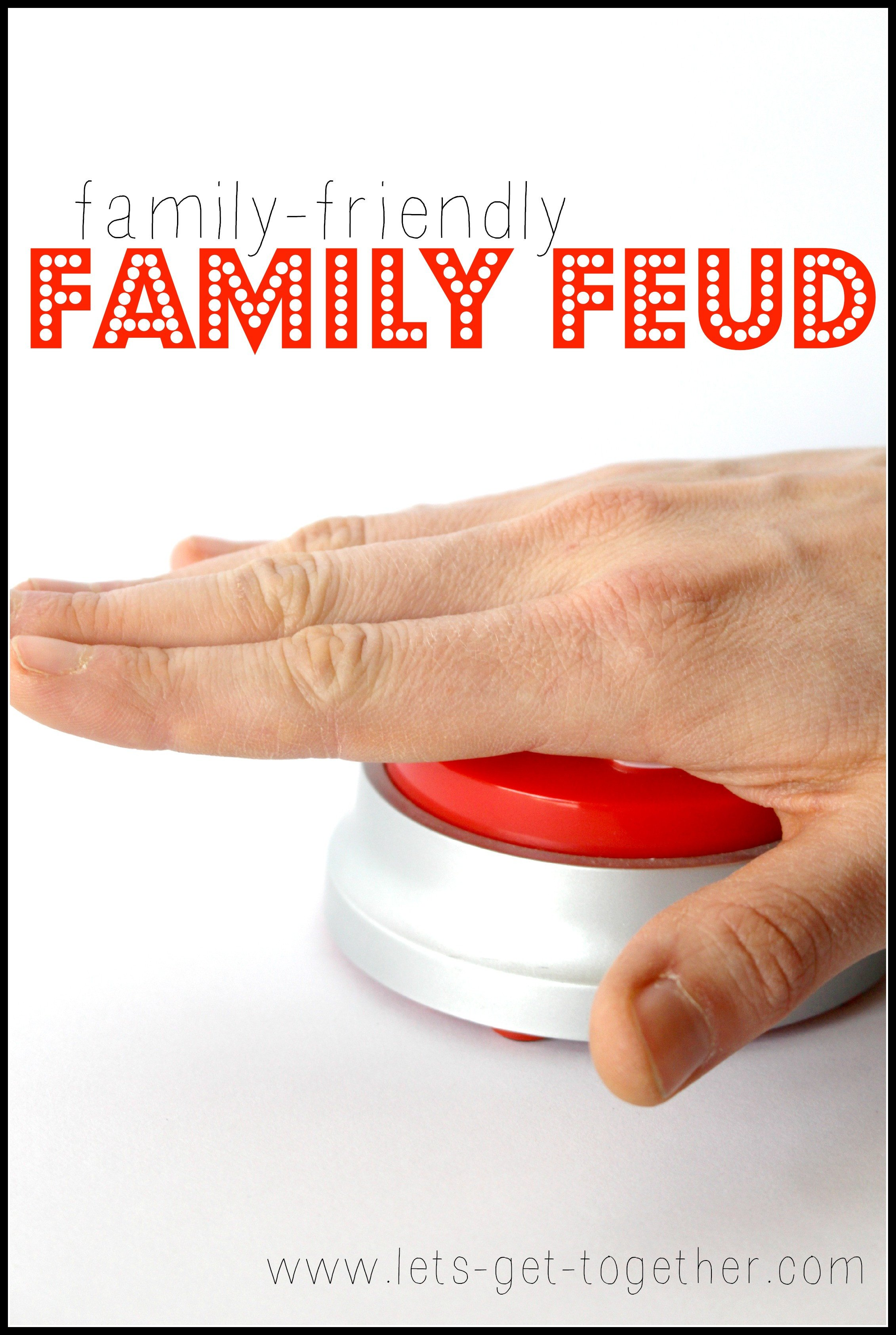 Family Feud Bible Questions Family Friendly Family Feud