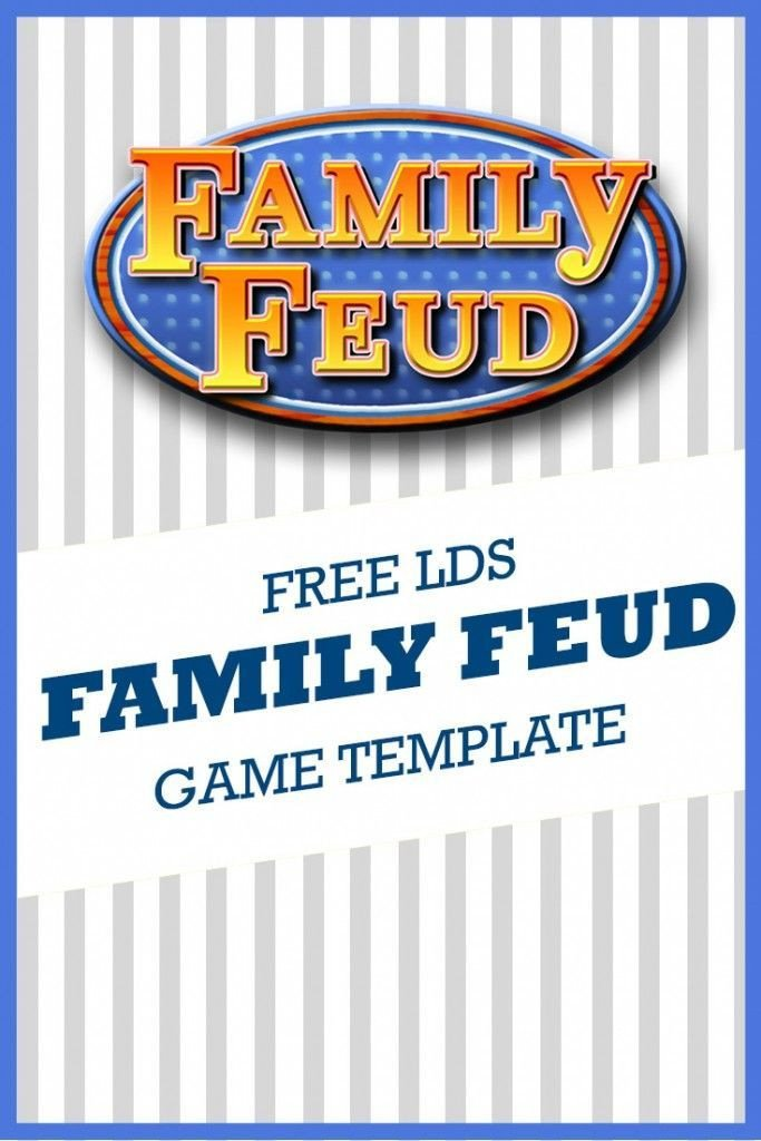 Family Feud Game Template 1000 Ideas About Free Family Feud Game On Pinterest