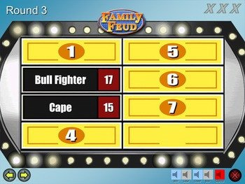 Family Feud Game Template Family Feud Excellent Quality Powerpoint Template Mac
