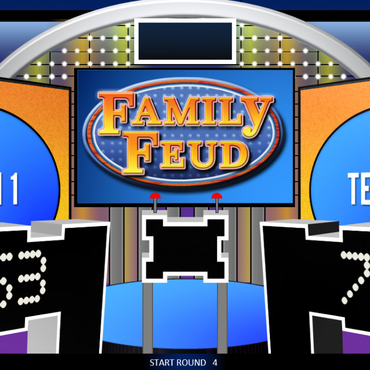 Family Feud Game Template Free Family Feud Powerpoint Game Template Rebocfo