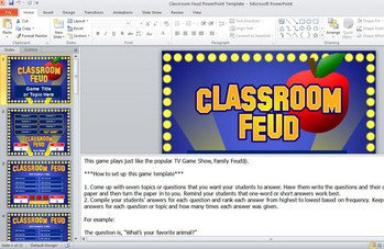 Family Feud Game Template Riepai Blog