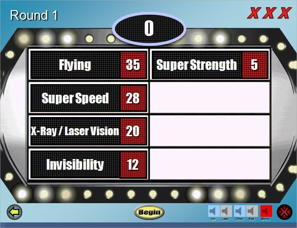 Family Feud Powerpoint Template 5 Family Feud Power Point Templates – Free Sample