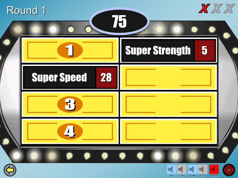 Family Feud Powerpoint Template 6 Free Family Feud Powerpoint Templates for Teachers