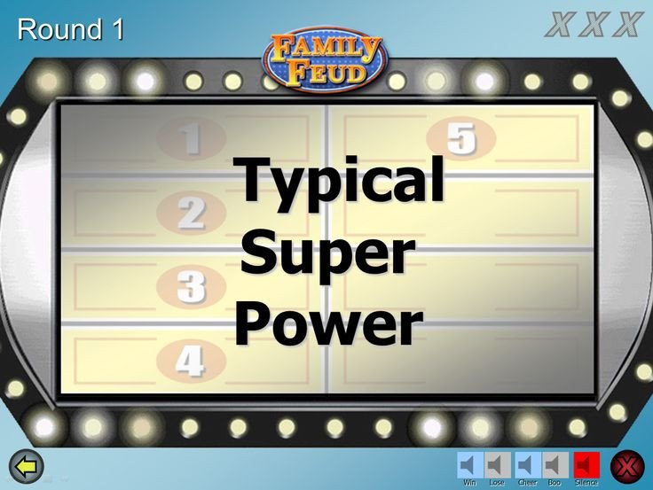 Family Feud Powerpoint Template Best 25 Family Feud Game Show Ideas On Pinterest