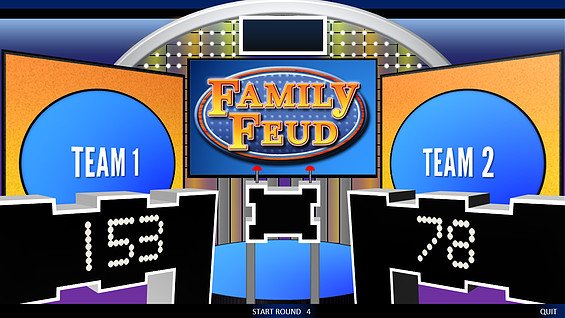 Family Feud Powerpoint Template Free Powerpoint Gameshow Templates