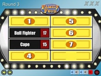 Family Feud Template Ppt Family Feud Game Template