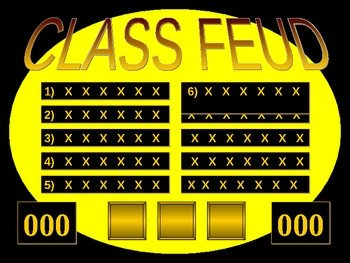 Family Feud Template Ppt Powerpoint Templates Free Download Feud Family Feud