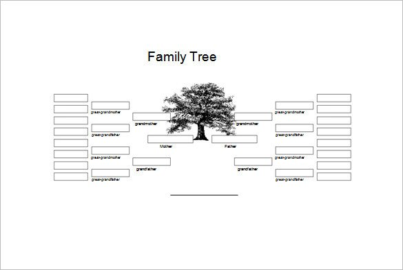 Family Genogram Template Word 36 Genogram Templates Pdf Word Apple Pages Google