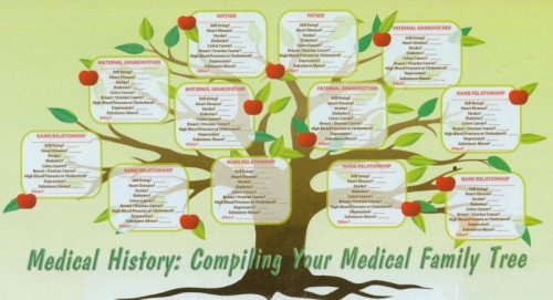 Family Medical Tree Medical History Piling Your Medical Family Tree