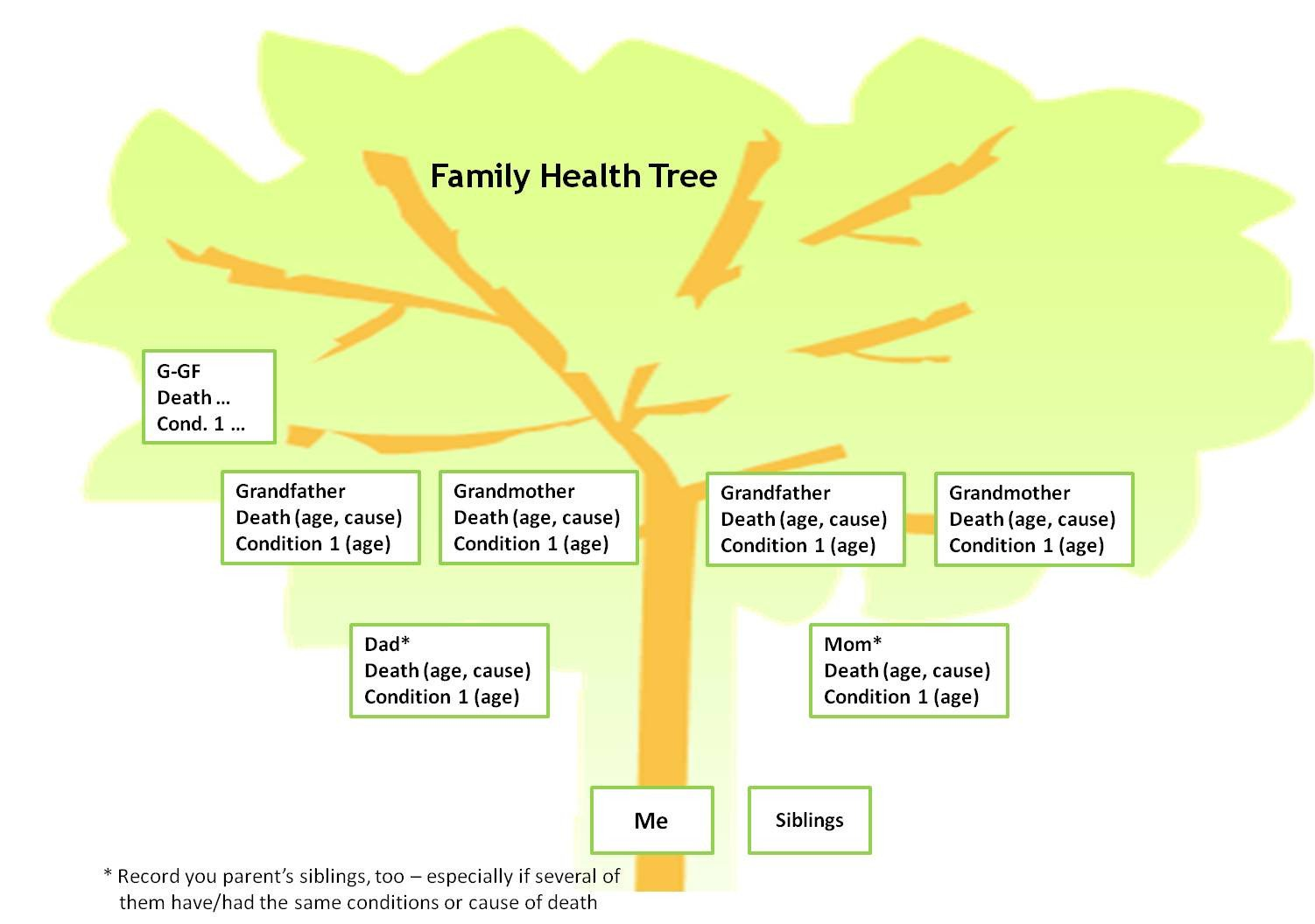 Family Medical Tree Sue S Health Blog Family Health Tree – the Most Important