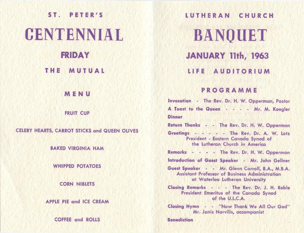 Family Reunion Banquet Program Sample 28 Of Church Anniversary Banquet Programs Template