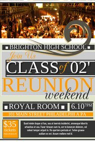 Family Reunion Flyers Templates Customizable Design Templates for Reunion
