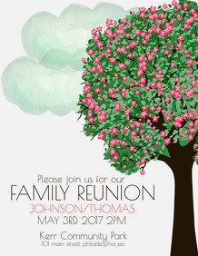 Family Reunion Flyers Templates Customize 690 Barbecue Poster Templates
