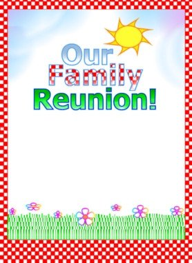 Family Reunion Flyers Templates Free Printable Flyer Samples Download Printable Flyrs