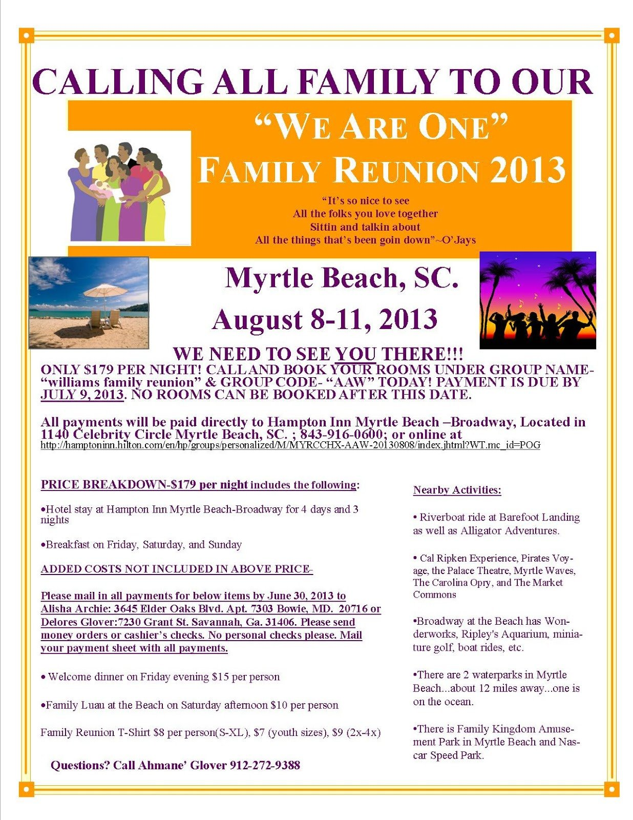 Family Reunion Flyers Templates We are E Family Reunion