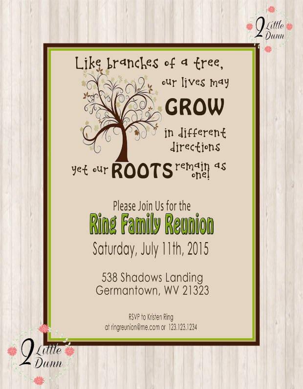Family Reunion Invitation Templates 16 Family Reunion Invitation Designs Psd Ai