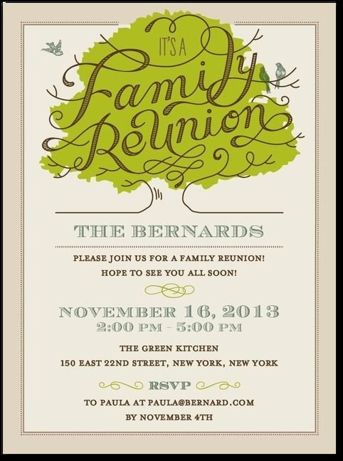 Family Reunion Invitation Templates 25 Best Ideas About Family Reunion Invitations On