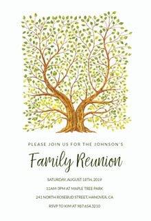 Family Reunion Invitation Templates Family Reunion Invitation Templates Free