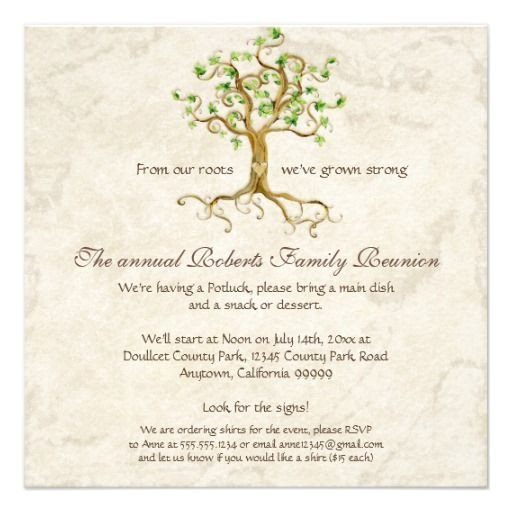 Family Reunion Invitations Templates 1000 Ideas About Family Reunion Invitations On Pinterest