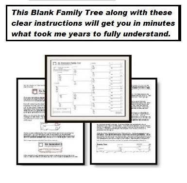 Family Tree Book Template Family Tree Book by Familytreefellow