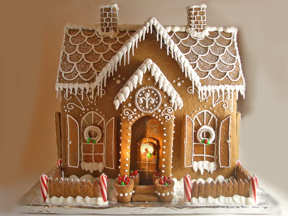 Fancy Gingerbread House Templates 14 Incredible Gingerbread Houses Pretty My Party