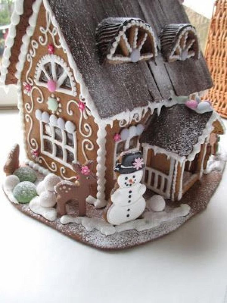 Fancy Gingerbread House Templates 617 Best Images About Christmas Foods On Pinterest