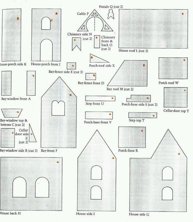Fancy Gingerbread House Templates Best 25 Gingerbread House Template Ideas On Pinterest