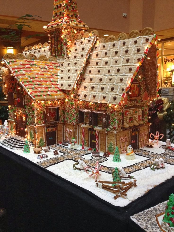 Fancy Gingerbread House Templates Best Gingerbread Houses Images On Pinterest
